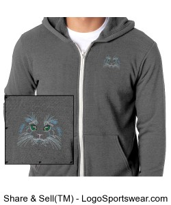 Carly's Cat Hoodie Design Zoom